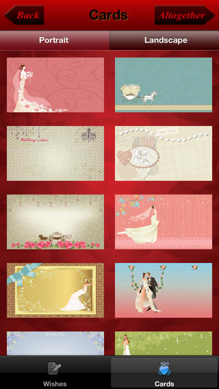 Wedding invitation cards app review apppicker choose your card design stopboris Choice Image