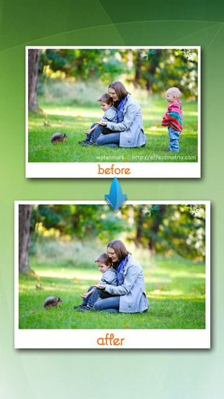 Easily remove elements from your photos