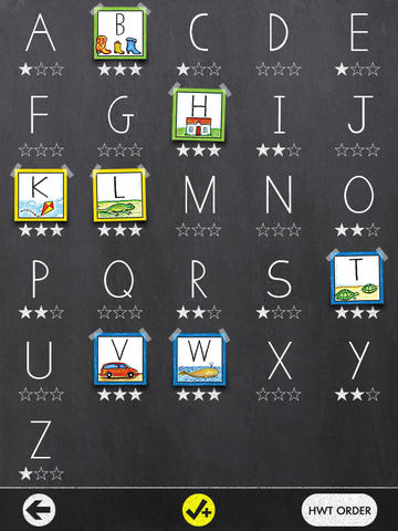 Learn uppercase, lowercase, and numbers