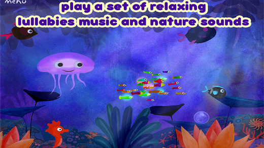 There are a variety of scenes and interactive features
