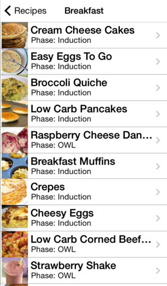 Breakfast screenshot