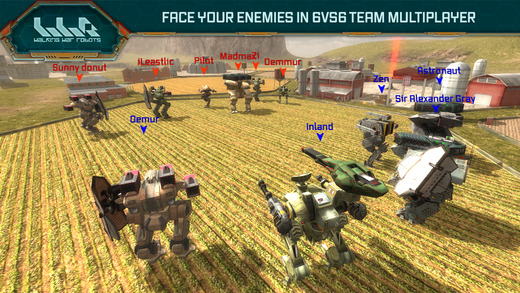 Engage in multiplayer battles