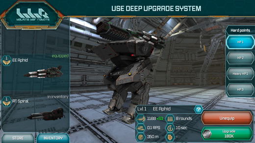 Walking war robots overview | onrpg.