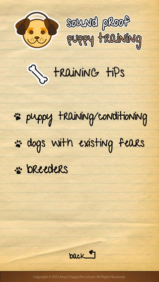 Best Features of Sound Proof Puppy Training App image