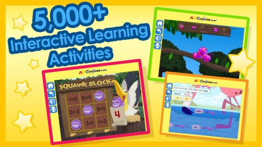 There is a massive selection of interactive activities