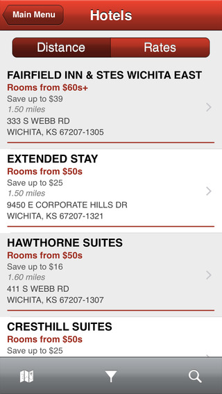 Best Features of CLC Lodging Hotel Locator image
