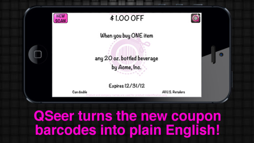 Reveal the hidden terms of the coupon