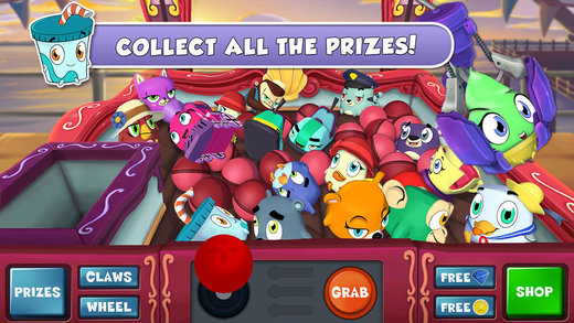 Try your best to collect all the adorable prizes