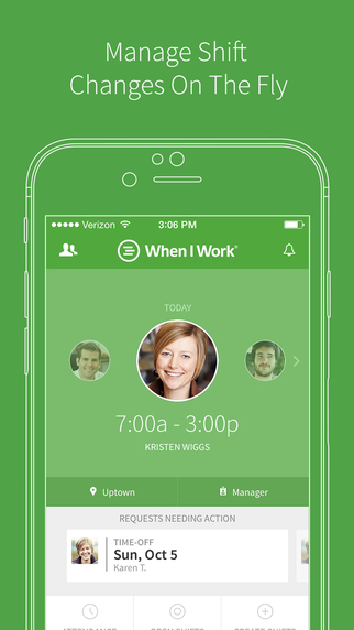 Workforce Management Becomes Easier with When I Work app image