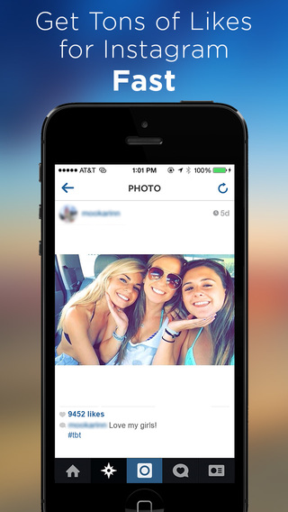 Get Likes for Instagram app review - appPicker