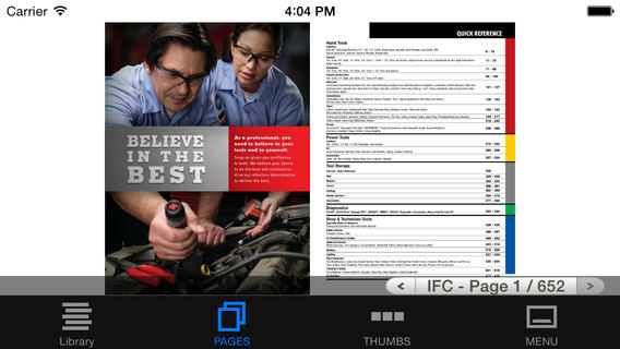 Snap-on Tools Catalog HD app review - appPicker