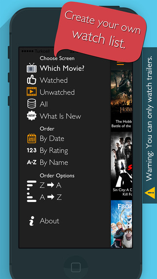 movies review app