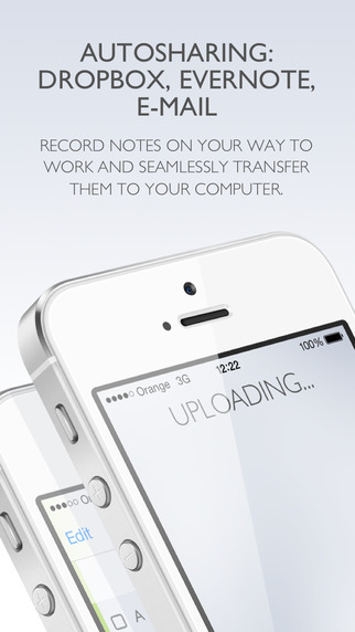 The app is able to automatically share your notes