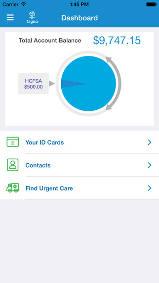One-stop Healthcare Hub with MyCigna App image