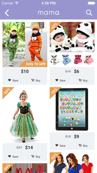 Get Stylish Children's Products with Mama   image