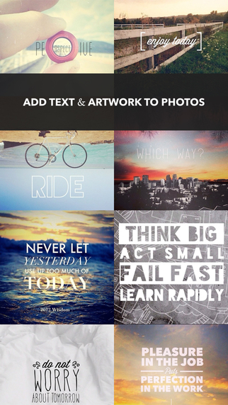 Make your Photos Personal by Adding Text and Artwork image