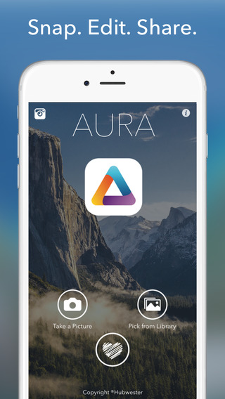 Aura - Camera Photo Editor app review - appPicker