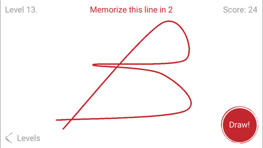 Memorize the line quickly