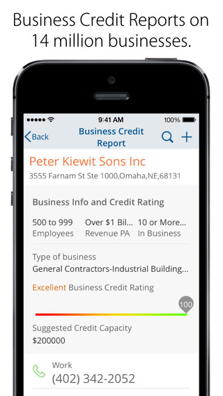 Get credit report information