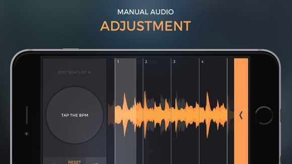 Control every aspect of the mix through manual audio adjustment