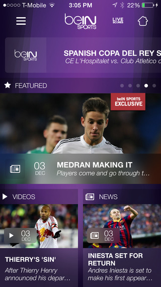 Get Real-Time News on All International Sports image
