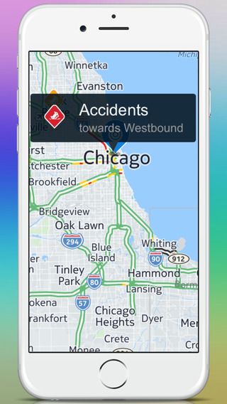 Best Features of Traffic Updates iTunes Application image