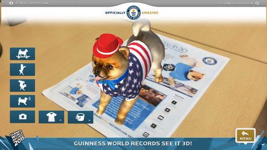 Guinness world records 2015 augmented reality app for Guinness world record certificate template