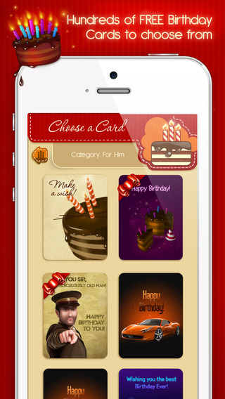birthday cards app review  apppicker, Birthday card