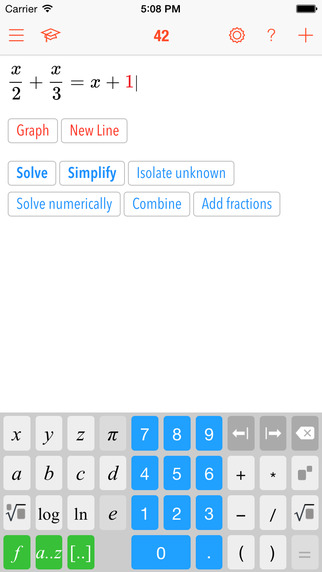 Math 42 app review: excellent mobile math tutor for students between 5th and 12th grade