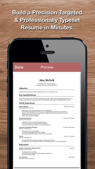 Resume Star app review - appPicker