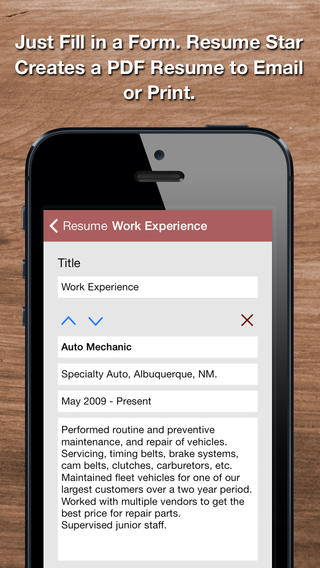 resume star app review