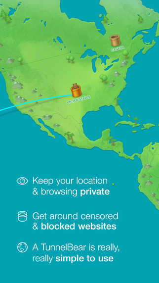 Get Free VPN Protection with TunnelBear image