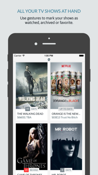 iShows 2 app review: a comprehensive TV show tracker - appPicker