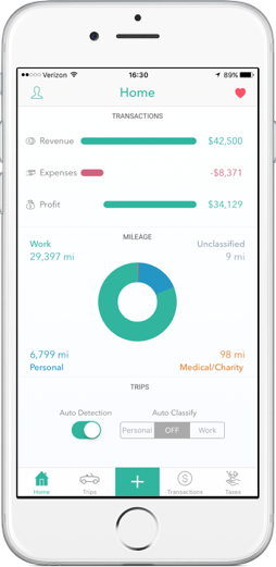 everlance app review automatic mileage and expense tracker apppicker