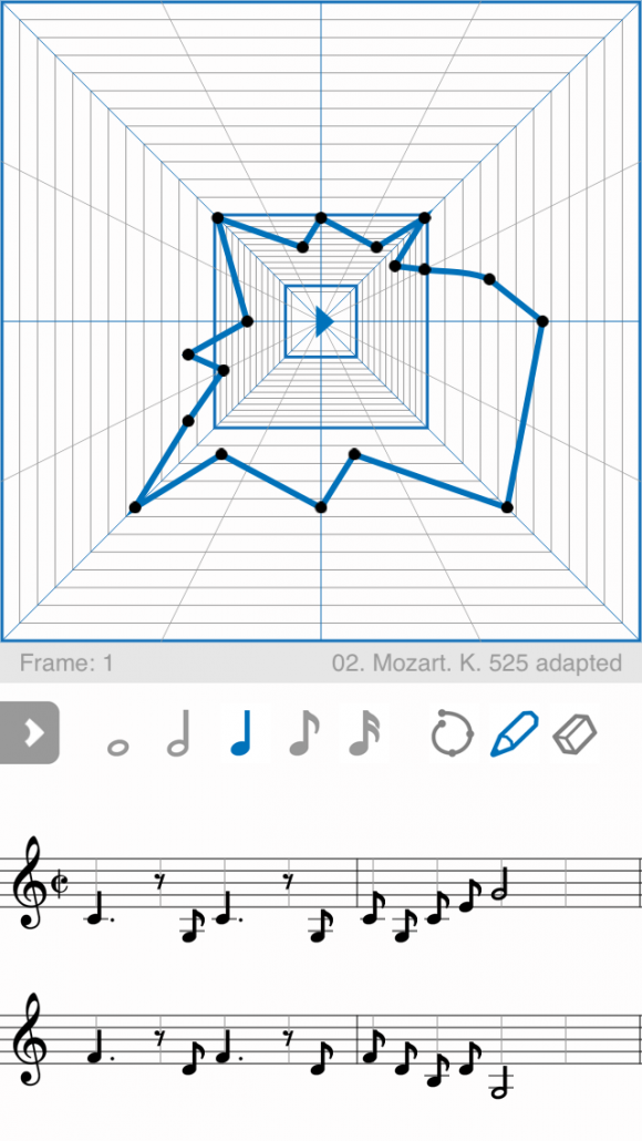 What a Mozart melody looks like