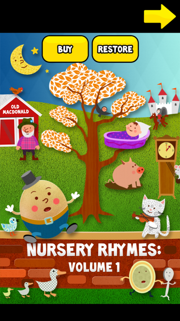 Nursery Rhymes: Volume 1 Free app review: an introduction to