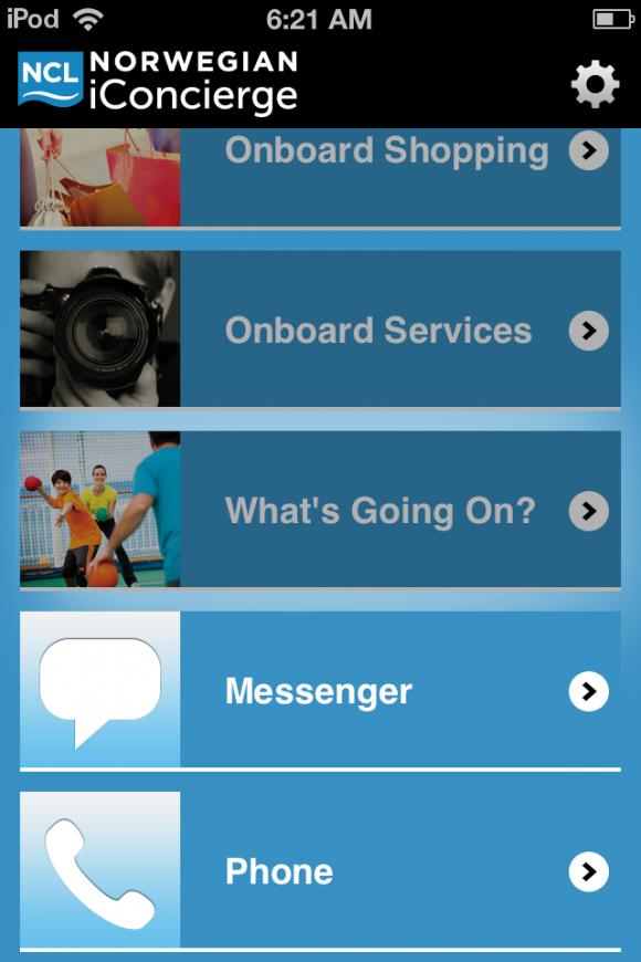 Norwegian iConcierge app review - appPicker
