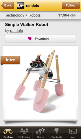 Instructables App Review A Vast Collection Of User Submitted Do It