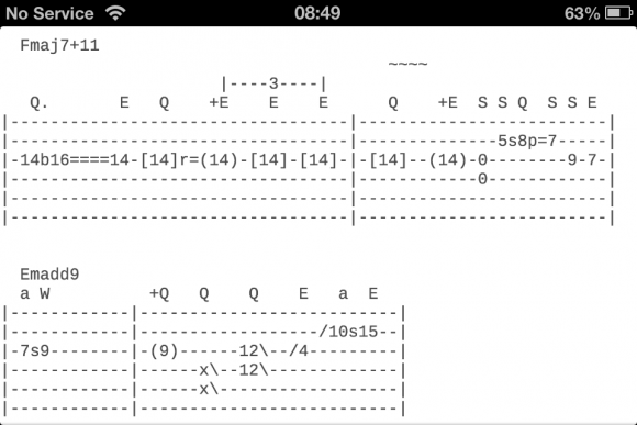 Riffr Guitar Tabs Chords And Lessons App Review Apppicker