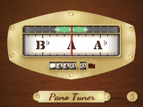 pano tuner app review tune your instrument to any pitch with ease apppicker. Black Bedroom Furniture Sets. Home Design Ideas