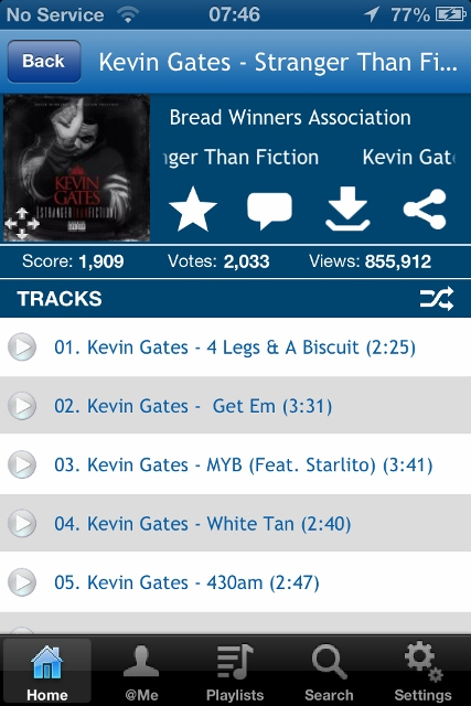 GetItLive app review: massive collection of free rap and hip