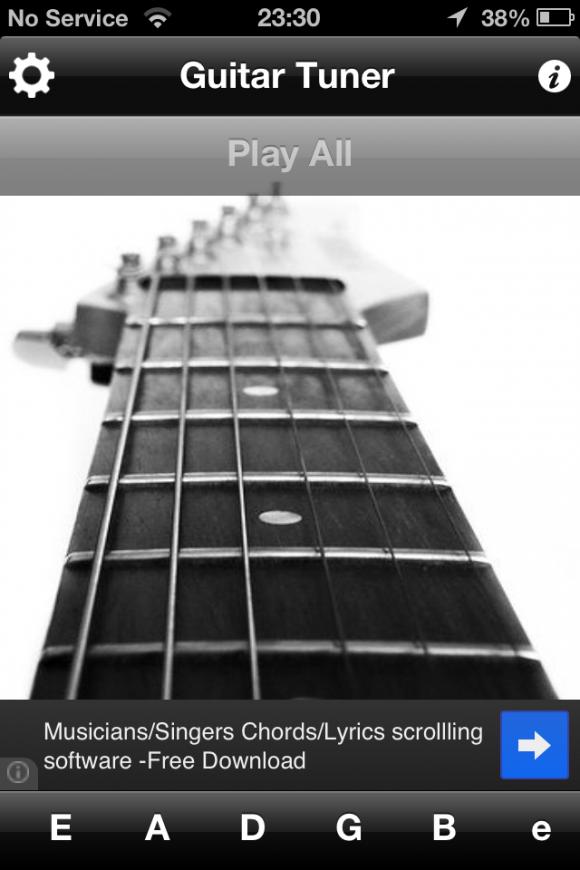 guitar tuner app review apppicker. Black Bedroom Furniture Sets. Home Design Ideas