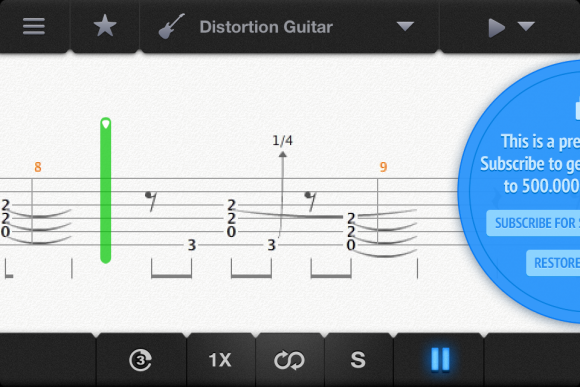 Songsterr Tabs & Chords app review: learn songs faster than