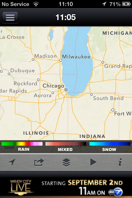 ABC7 Chicago Weather app review: detailed weather forecasts