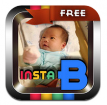 InstaB Free For Baby adds excitement to baby photos