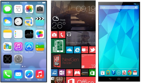 iOS 7 beats Android and Windows Phone for user experience - appPicker