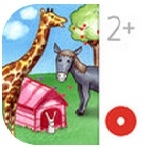My Zoo Animals app review: a Toddler's Seek & Find interactive activity book