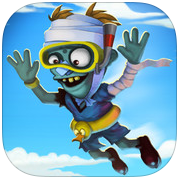Zombie High Dive app review: a really funny time waster