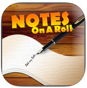 Notes on a Roll app review: humorous productivity