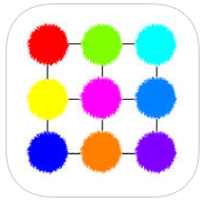 Poofies app review: match up the colors